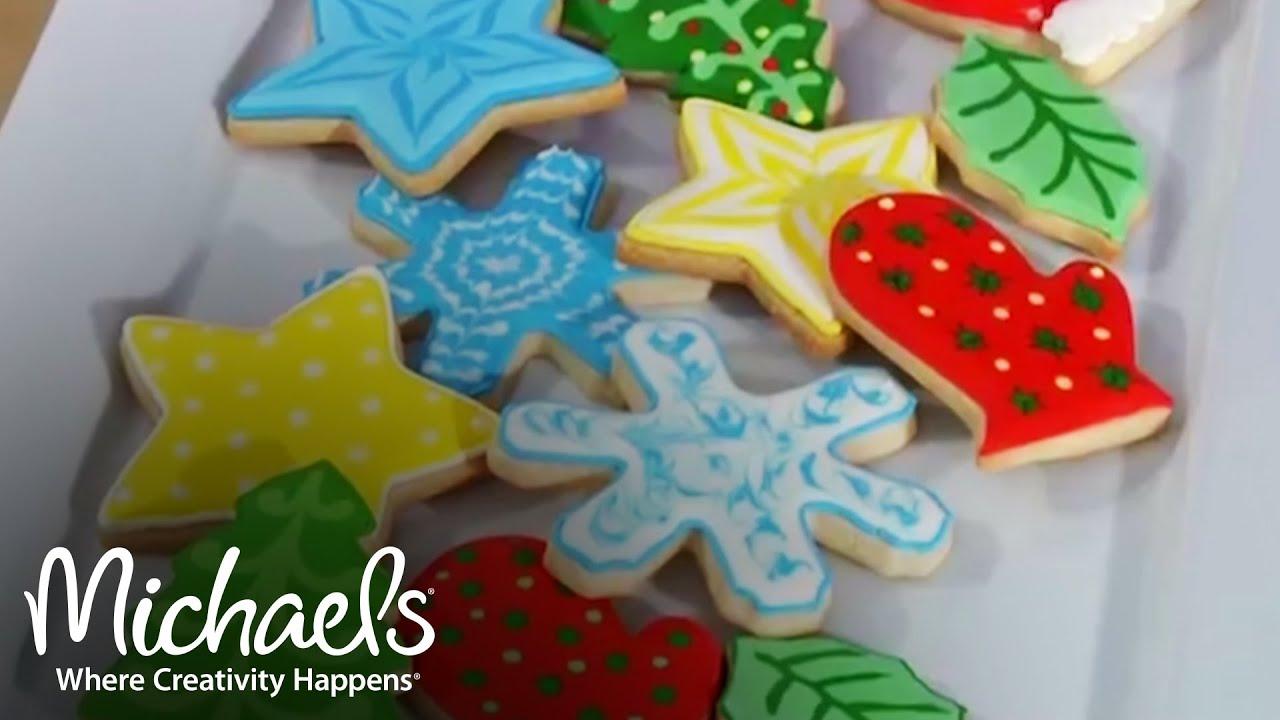 Color Flow Technique For Cookies Baking Treats L Michaels