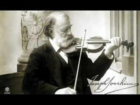 Joseph Joachim Romanze in C