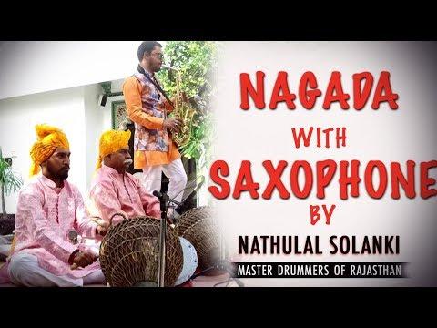 The Taj Lake Palace Udaipur | Nagada and Saxophone | Nathu Lal Solanki | Firoj Ali | Lunch Party