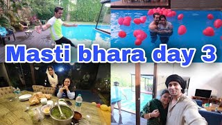 Celebration Over Masti Still On | Day 3 | Shoaib Ibrahim