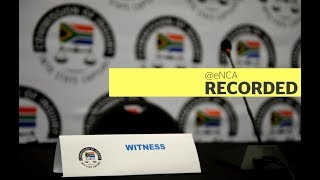 The state capture inquiry resumes Video