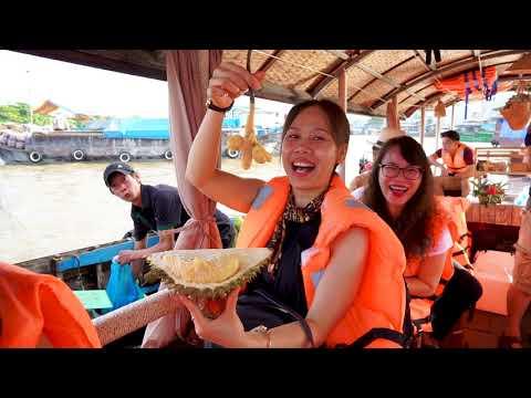 Tour Chợ Nổi Cái Răng | Nụ Cười Mêkong chuyên Tour miền Tây