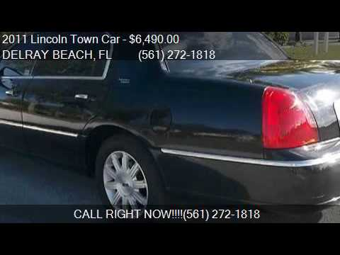 2011 Lincoln Town Car Signature Limited 4dr Sedan For Sale I Youtube