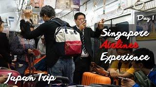 Travel Vlog JEPANG hari ke 1 : Singapore Airlines Experience / Awi Willyanto