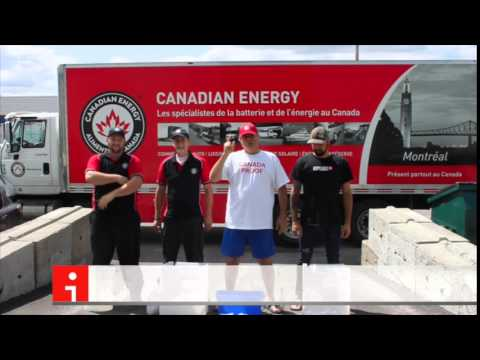 Canadian Energy Montreal Ice Bucket Challenge