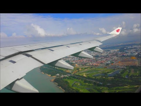 Air China Airbus A330-343 | Singapore to Beijing Capital *Full Flight