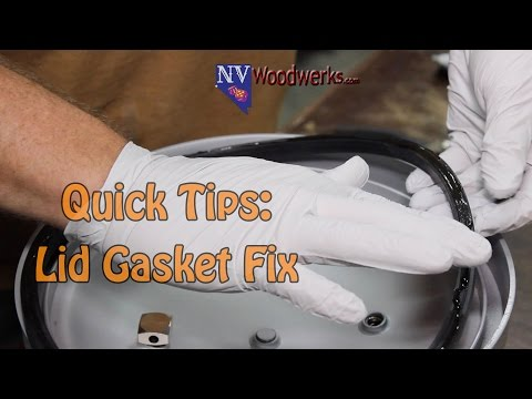 How to Install A Pressure Pot Lid Gasket