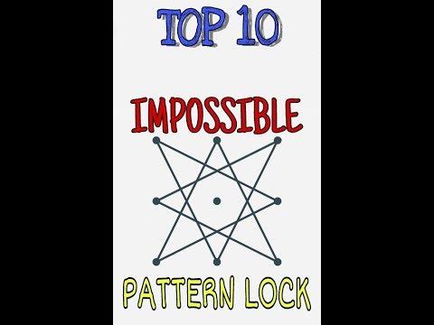 Top 10 Impossible Pattern Locks    Best Pattern lock    impossible pattern lock   