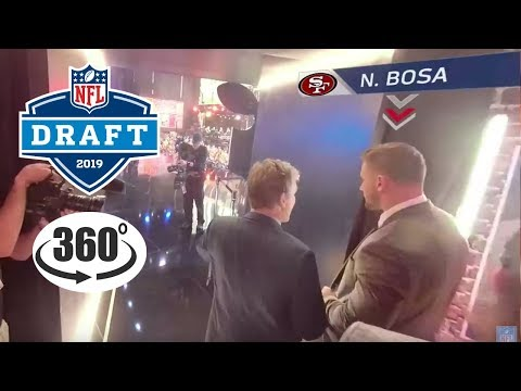 Behind the Scenes of the NFL Draft in 360