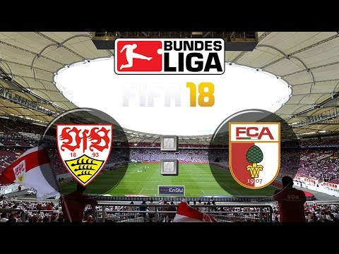 FIFA 18 Bundesliga VfB Stuttgart : FC Augsburg | Gameplay Deutsch Livestream