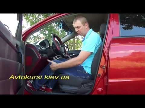 Как правильно отрегулировать сиденье в автомобиле