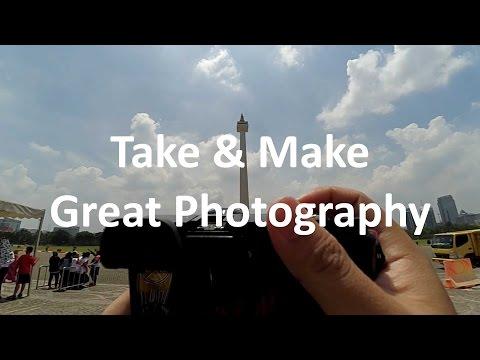 Monas ( Monumen Nasional ) Jakarta - Photo Challenge I Xiaomi yi POV SONY A6000 KIT