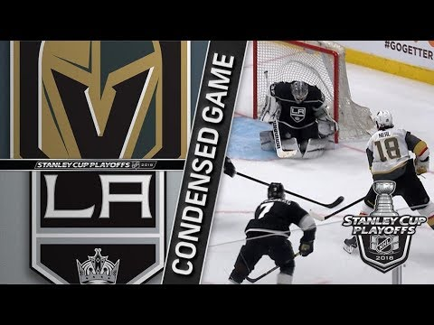 Vegas Golden Knights vs Los Angeles Kings R1, Gm3 apr 15, 2018 HIGHLIGHTS HD