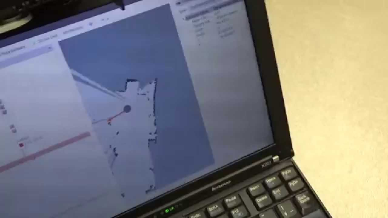 TurtleBot gmapping demo