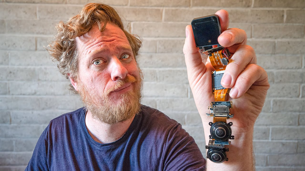 Inside the First Modular Action Camera - Insta360 ONE R Teardown