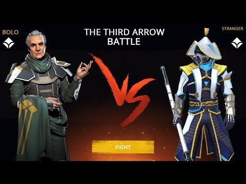 Shadow Fight 3 Official Battle YOUNG BOLO Versus STRANGER - The Third Arrow Walkthrough Part 31