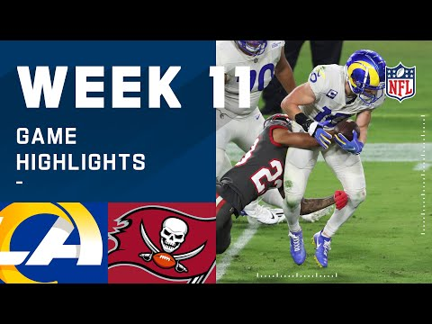 Rams vs. Buccaneers Week 11 Highlights | NFL 2020