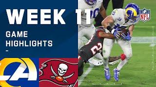 Rams vs. Buccaneers Week 11 Highlights   NFL 2020