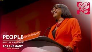 Diane Abbott's speech to Labour Conference 2019