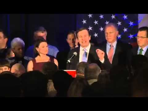 Chris Murphy victory speech (full)