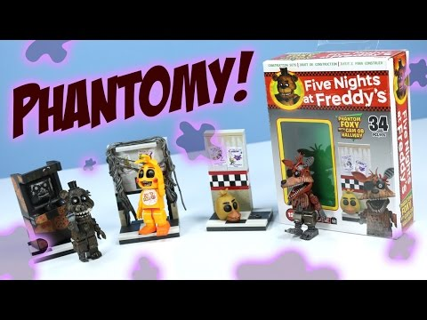 Five Nights at Freddy's Phantom Freddy Foxy And Toy Chica McFarlane