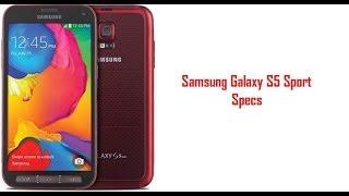 Samsung Galaxy S5 Sport Specs & Features