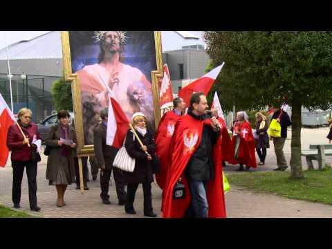 Marsz dla Intronizacji Jezusa Chrystusa na króla Polski - Kwidzyń 2013 - I