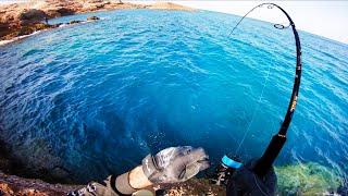 Fishing a desert island