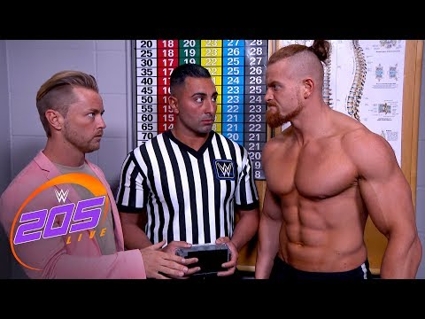 Buddy Murphy fails his Cruiserweight weigh-in: 205 Live Exclusive, April 17, 2018