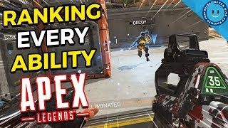 Download Ranking and Explaining Every Ability, Ultimate And Passive in Apex Legends! Mp3 and Videos
