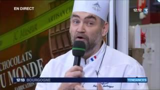 Direct du 12/13 au salon du chocolat de Beaune