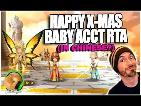 SUMMONERS WAR: Happy X-Mas China RTA Battles :D