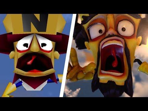 Crash Bandicoot N. Sane Trilogy - All Intros Comparison (PS4 vs Original)