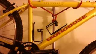 Bicycle storage : the Delta Donatello leaning wall bike rack