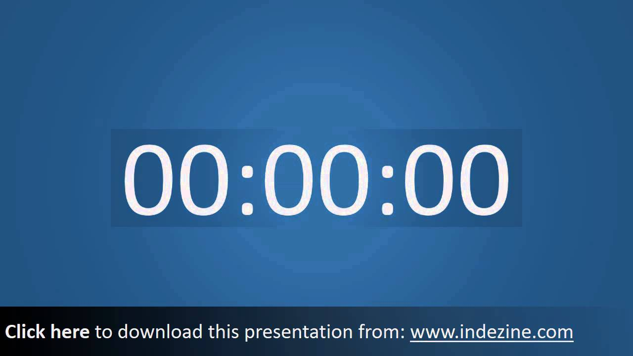 countdown timer for powerpoint 03 youtube