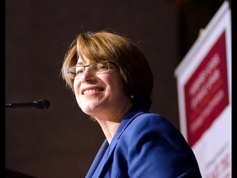 Senator Amy Klobuchar Introduces VP Walter Mondale