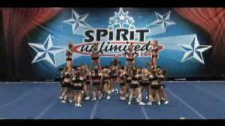 Synergy Elite Cheer - G-Force - Open All Girl Level 6
