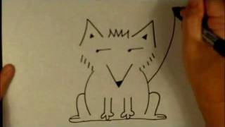 How To Draw A Cartoon Fox Easy Drawing Tutorial