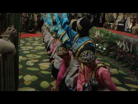 Aceh traditional dance at lumire hotel