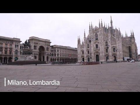 Coronavirus, l'Italia si ferma: le immagini dalle città deserte da Milano a Napoli