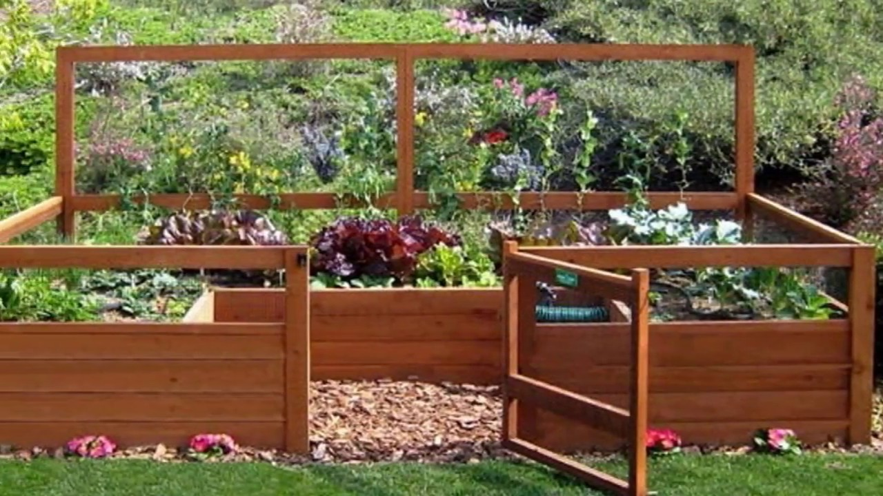 Small Vegetable Garden Layout Examples - Small Backyard ... on Small Backyard Layout id=93637