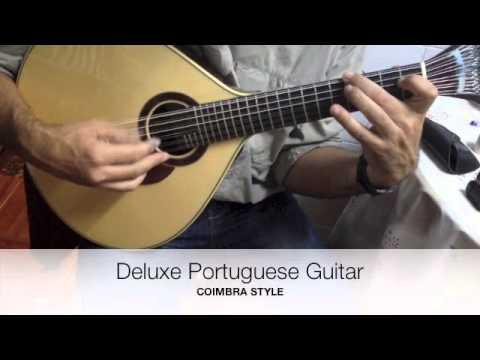 Deluxe Portuguese Fado Guitar - Coimbra Style