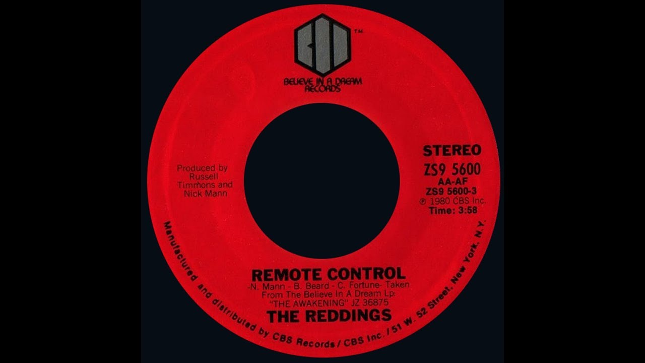 Download The Reddings ~ Remote Control 1980 Funky Purrfection Version