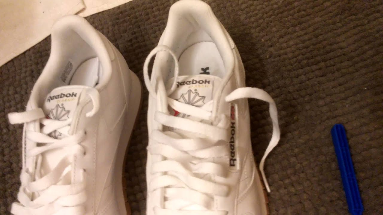 How To Quickly Clean Reebok Classics