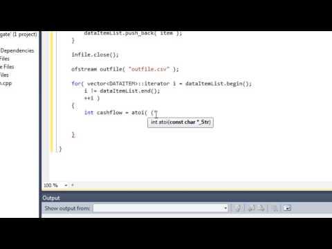 Aggregate data in C++ tutorial - Part 2