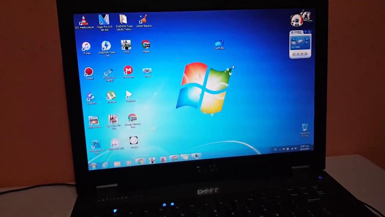 Como hacer captura de pantalla en windows 7 youtube for Escritorio para computadora