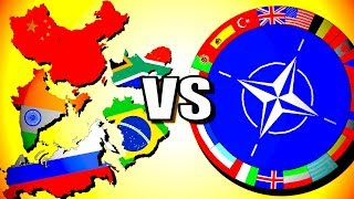 BRICS Vs NATO Hearts Of Iron 4 HOI4 Modern Day