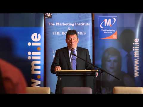Marketing Institute, Marketing Breakfast with Mick Dawson, CEO, Leinster Rugby, 30 January 13