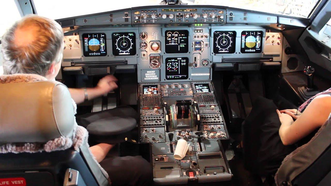 Fsx Wallpaper Hd Air Canada Rouge Cockpit Amp Pilot A319 Youtube