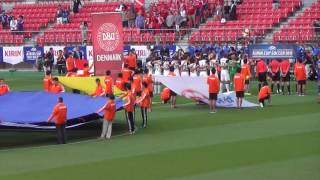 National Anthem of DENMARK BOSNIA AND HERZEGOVINA vs DENMARK KIRIN CUP 2016.6.3